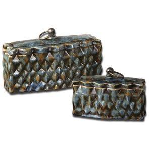 Uttermost Melani Decorative Boxes Set of 2