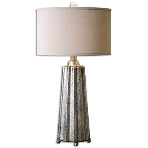 Uttermost Slavonia Rust Bronze Table Lamp