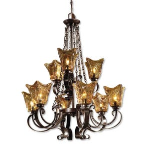Uttermost Vetraio 6 Light Chandelier