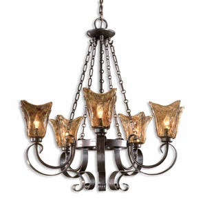 Uttermost Vetraio 3 Light Chandelier