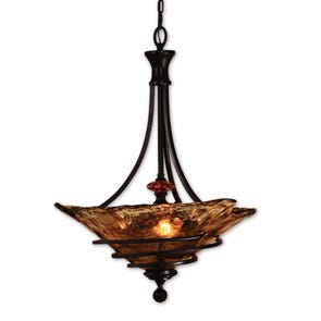 Uttermost Vitalia 2 Light Bronze Kitchen Island