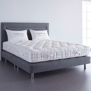 Clearance Vispring Elite Medium/Firm Dual Coil Tension Queen Mattress Only SDMS0919AA1