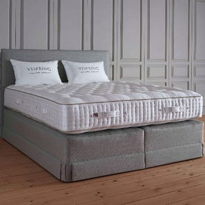 Clearance Vispring Masterpiece Superb Medium/Soft Dual Coil Tension King Mattress Only SDMS0519TR7