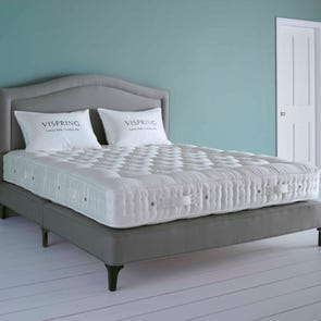 Clearance Vispring Oxford Firm/Medium Dual Coil Tension Queen Mattress Only SDMS0519TR3