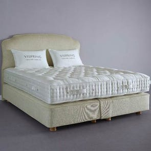 Clearance Vispring Regal Superb Soft Coil Tension Twin XL Mattress with Foundation Set SDMS0519BR1