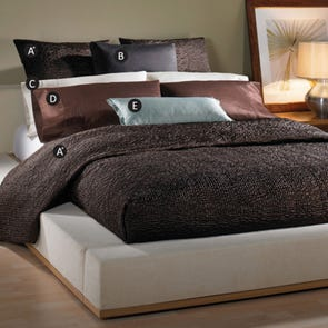 Wildcat Territory Shanti Bedding Set in Chocolate