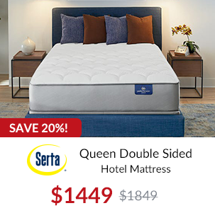 Stearns and Foster Queen Hurston Luxury Plush
