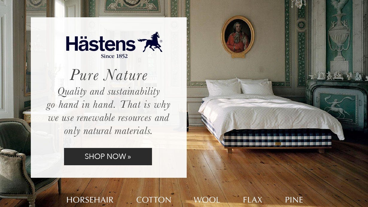 Hastens mattress sale