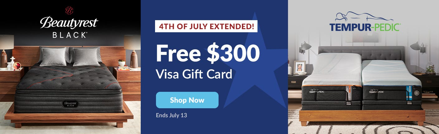 Beautyrest Black and Tempur-Pedic Black Friday Sale