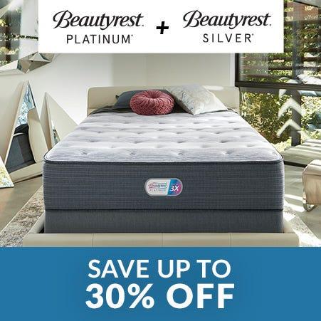 Beautyrest Platinum/Silver sale