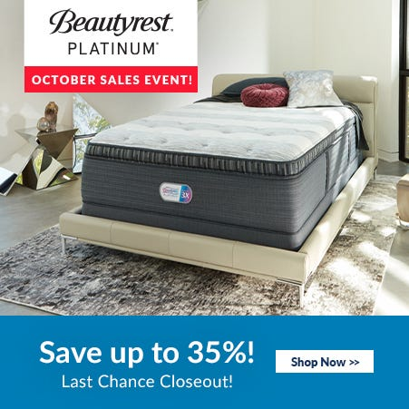 Simmons Beautyrest Platinum Sale
