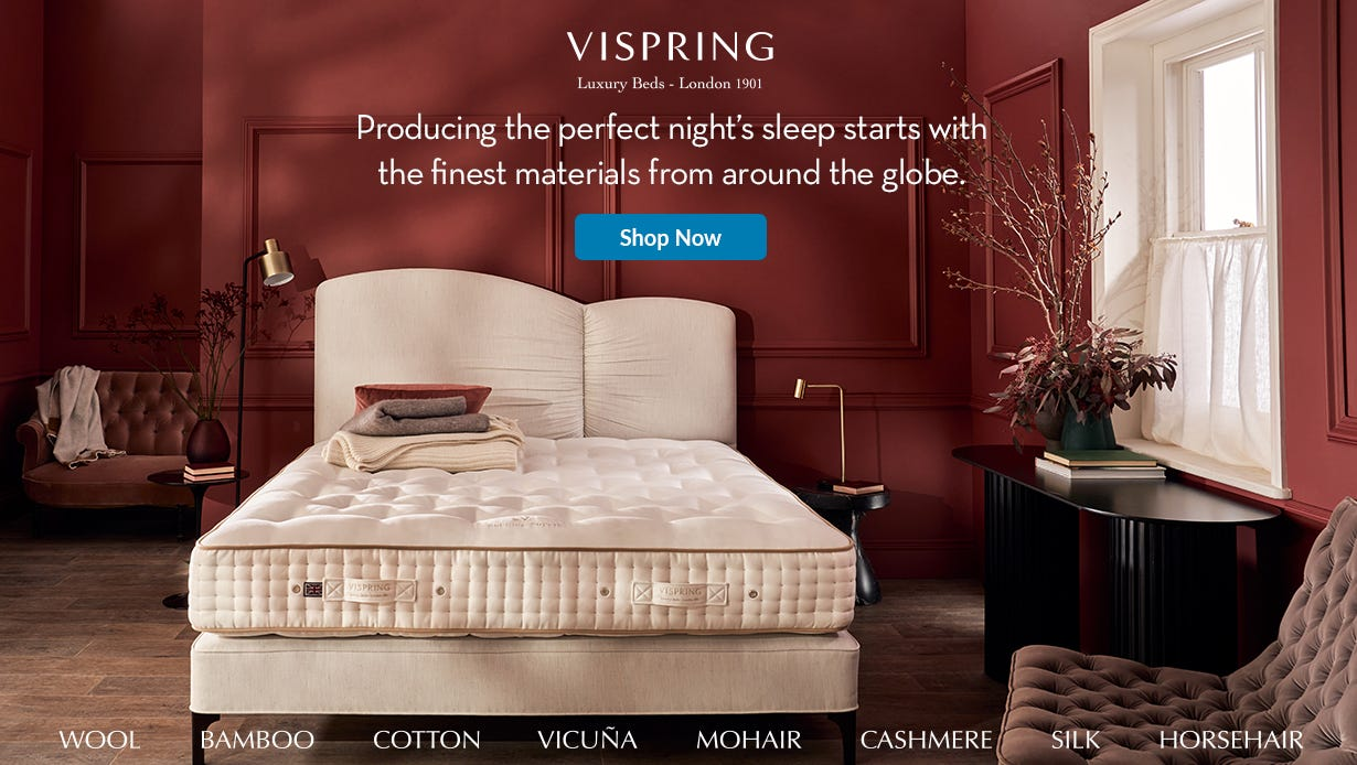 Vispring mattress sale