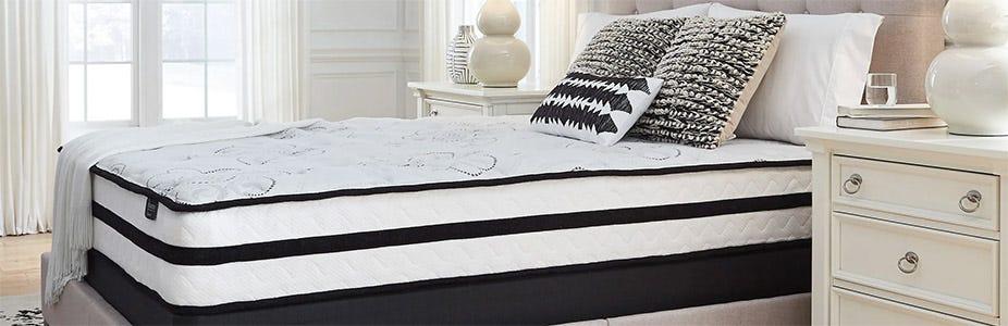 Ashley Chime 10 Inch Hybrid Cushion Firm Mattress Review