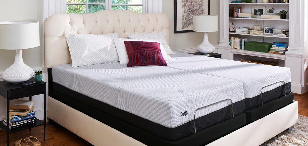 Sealy Conform High Spirits Firm mattress in a room