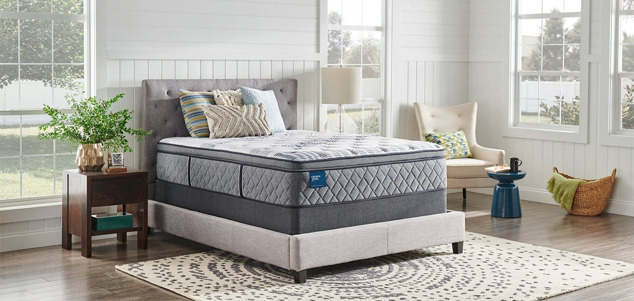 Crown Jewel bed in a bedroom setting