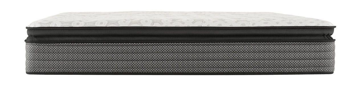 Sealy Response Santa Paula IV Cushion Firm Pillow Top mattress on top of a box spring