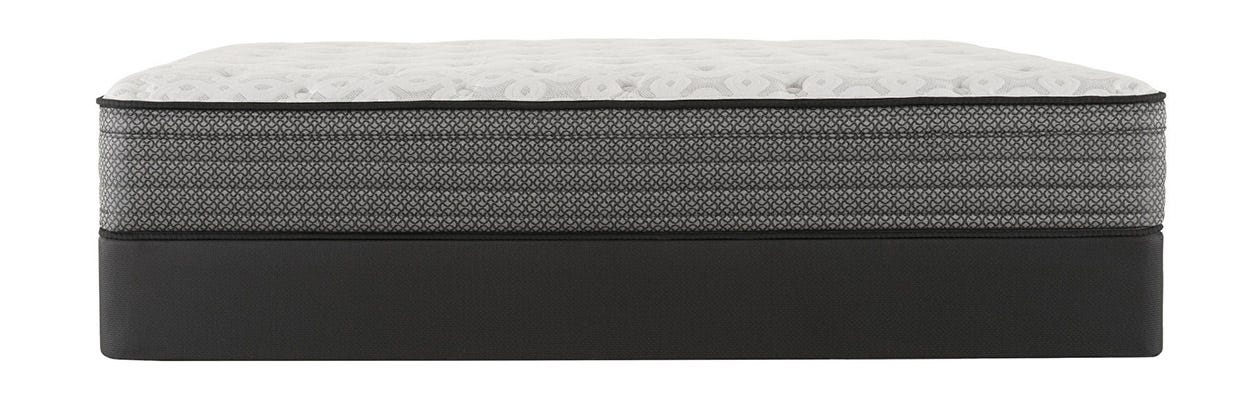 Sealy Response Santa Paula IV Plush Euro Top mattress on top of a box spring