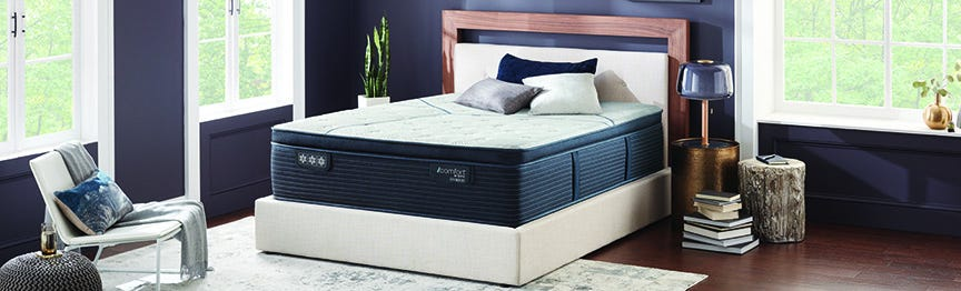 Serta iComfort CF4000 Quilted Hybrid Medium Pillow Top Mattress