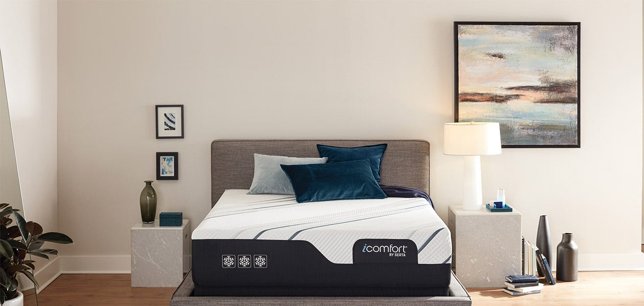 Picture of: Serta Icomfort Cf4000 Plush Mattress Review 2020