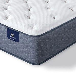 Serta Sleep True Alverson II Plush mattress corner