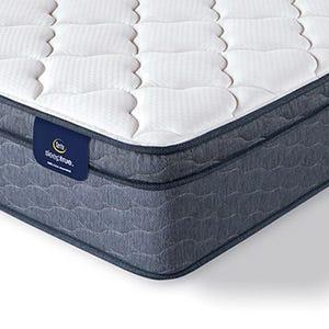 Serta Sleep True Malloy Plush Euro Top mattress corner