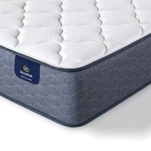 Serta Sleep True Malloy Plush mattress corner
