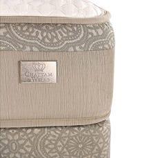 Hamilton Luxury Plush mattress corner view