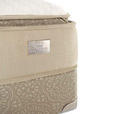 Hamilton Pillow Top mattress corner view
